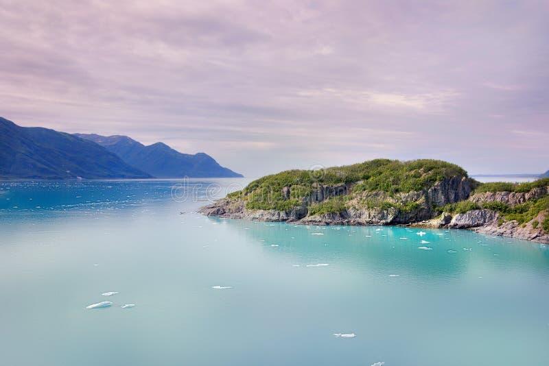 Baia di ghiacciaio Alaska immagine stock