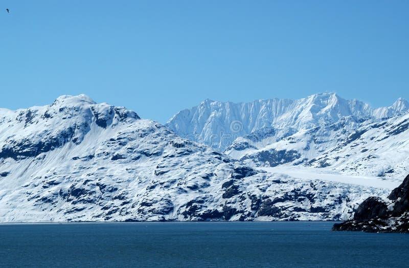 Baia di ghiacciaio nell'Alaska fotografia stock