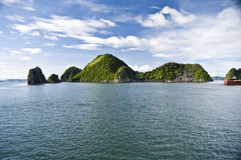Baia di Halong, Vietnam fotografia stock libera da diritti