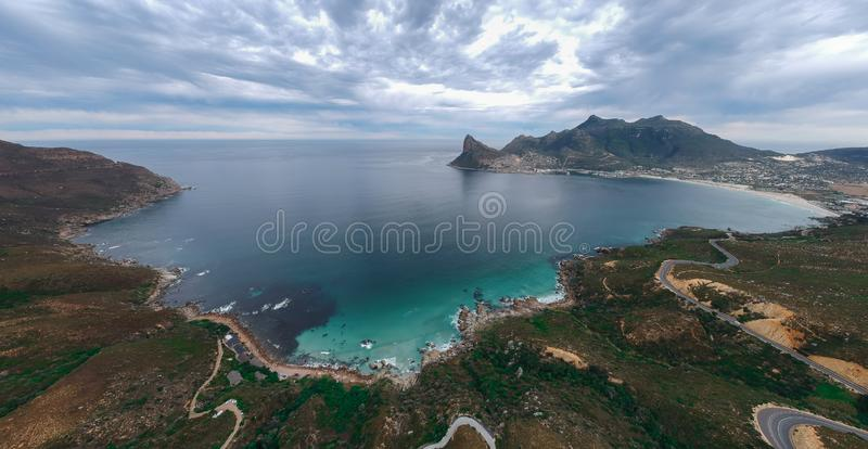 Baia di Hout, la Provincia del Capo Occidentale, Sudafrica fotografia stock libera da diritti