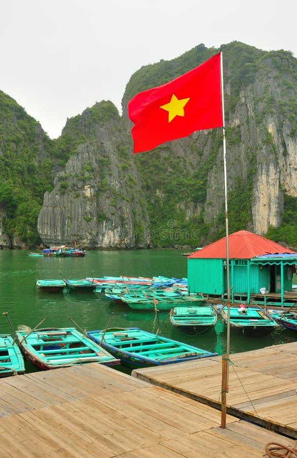 Baia di lunghezza Vietnam dell'ha immagini stock