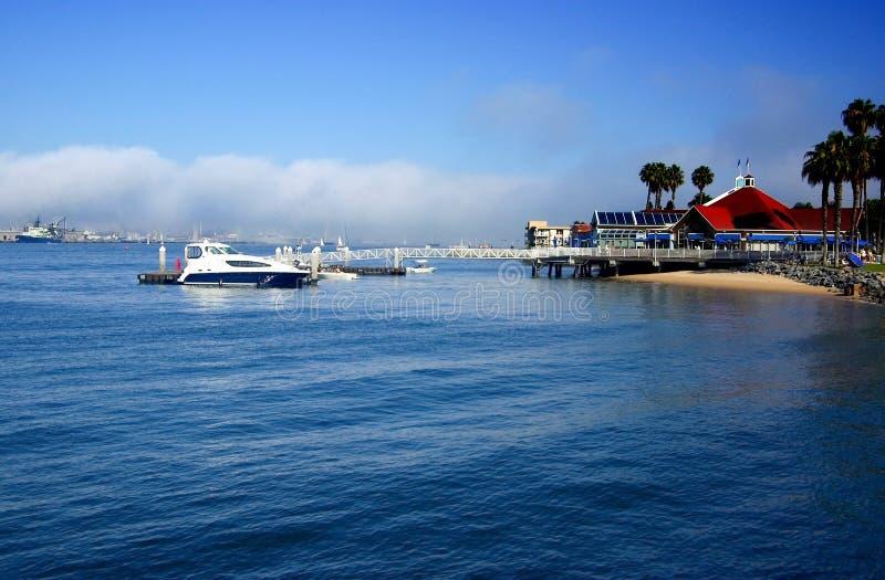 Baia di San Diego fotografia stock
