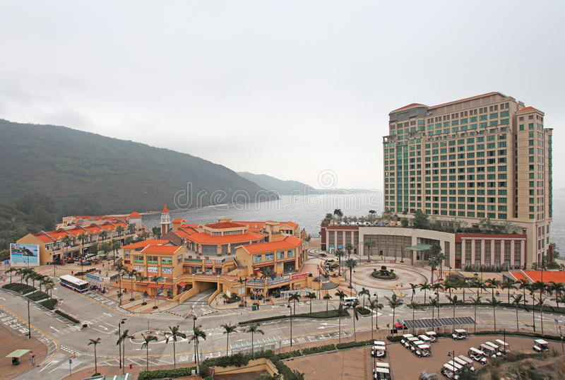 Baia di scoperta, isola di Lantau, Hong Kong immagine stock