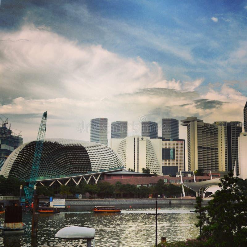 Baia di Singapore fotografia stock libera da diritti