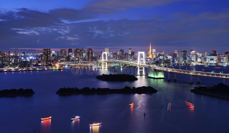 Baia di Tokyo immagine stock libera da diritti