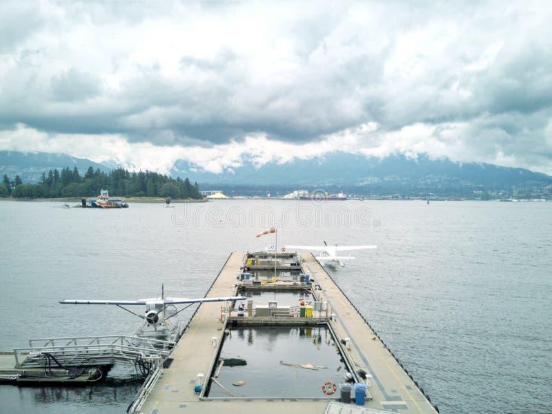 Baia di Vancouver fotografia stock