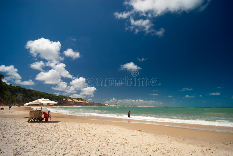 Download Baia Dos Golfinhos Near Pipa Brazil Stock Image - Image: 12120951