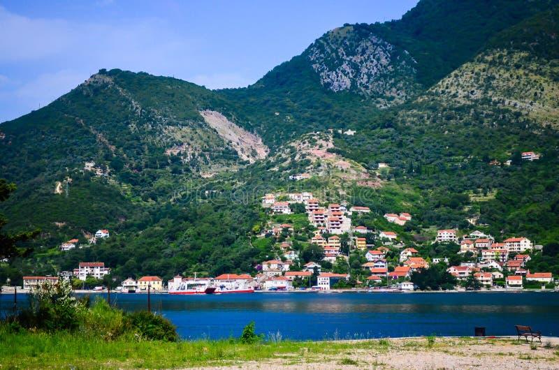 Baia Montenegro di Kotor fotografie stock libere da diritti