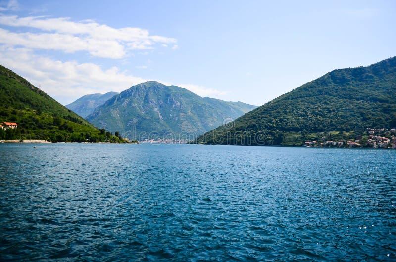 Baia Montenegro di Kotor immagine stock