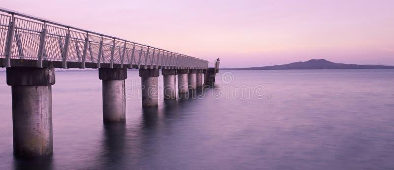 Baia Nuova Zelanda di Murrays immagini stock libere da diritti