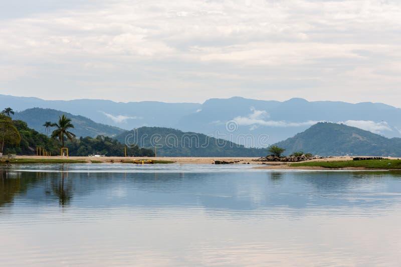 Baia Rio de Janeiro Brasile di Paraty immagine stock