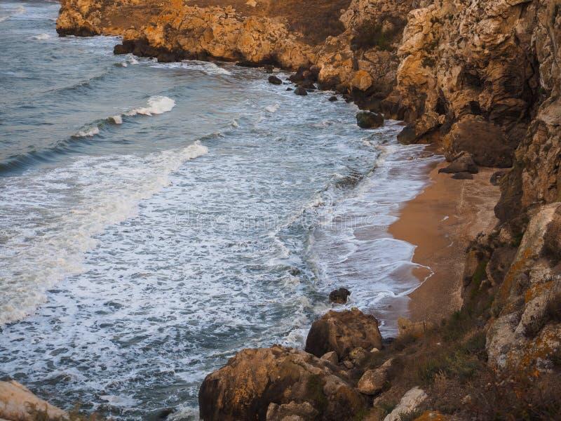 Baia sul mare fotografia stock libera da diritti