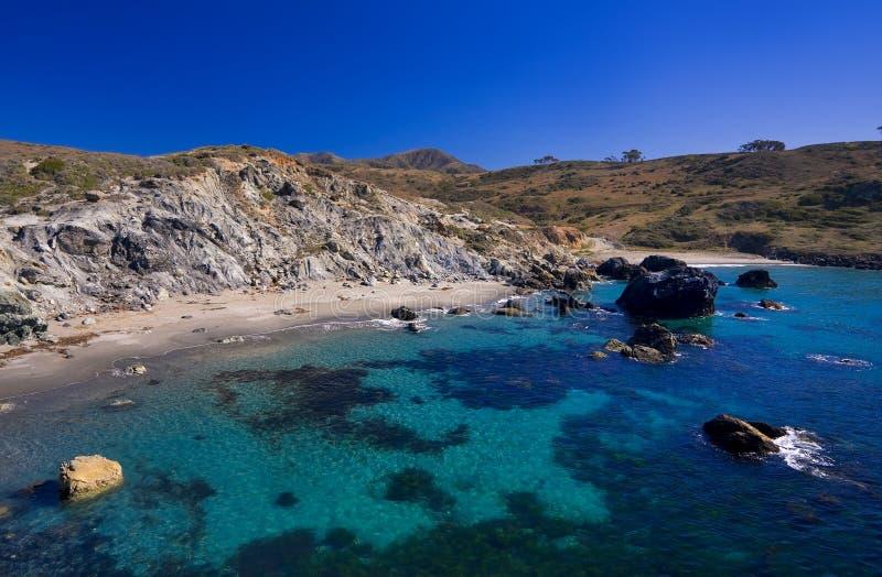 Baia sull'isola di Catalina fotografie stock libere da diritti
