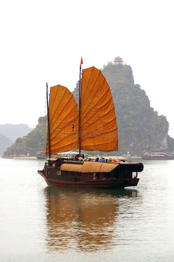 Baia Vietnan di Halong immagini stock