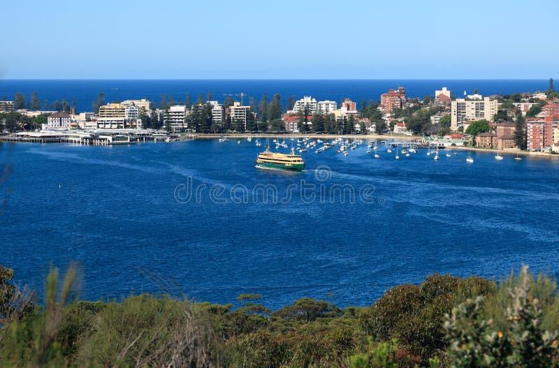 Baia virile dalla sosta nazionale del porto di Sydney fotografia stock