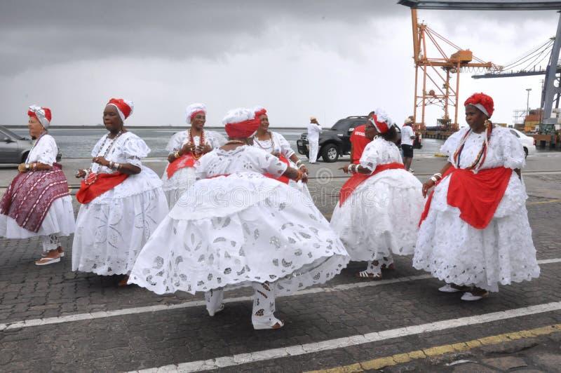 Baiana taniec zdjęcia royalty free