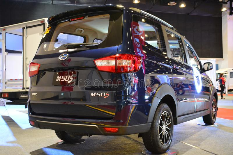Baic M50S van. PASAY, PH - AUG. 17: Baic M50S van at Transport and Logistics Philippines on August 17, 2019 in World Trade Center, Pasay, Philippines stock photo