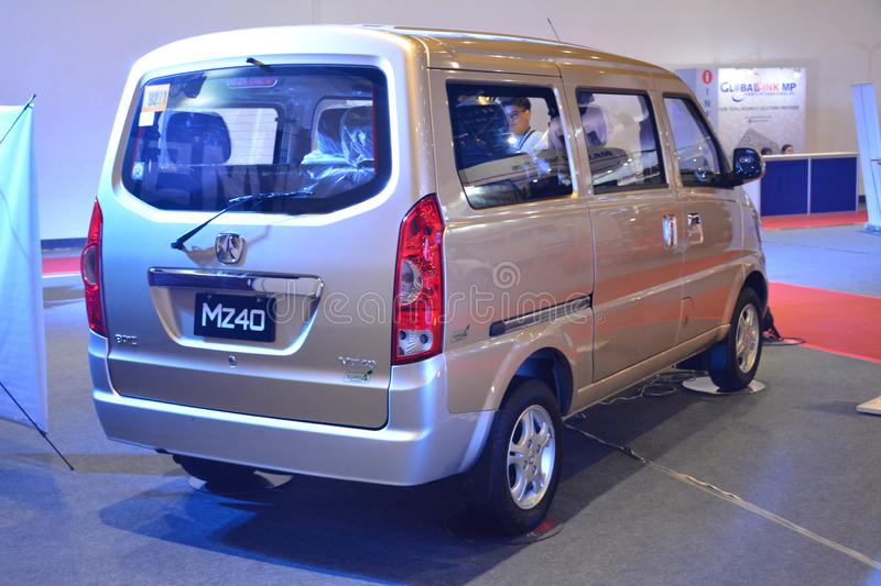 Baic MZ40 van. PASAY, PH - AUG. 17: Baic MZ40 van on August 17, 2018 at Transport and Logistics in World Trade Center Metro Manila, Pasay, Philippines stock photos