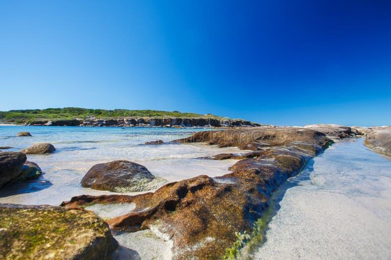 Baie cachée à Sydney photographie stock libre de droits