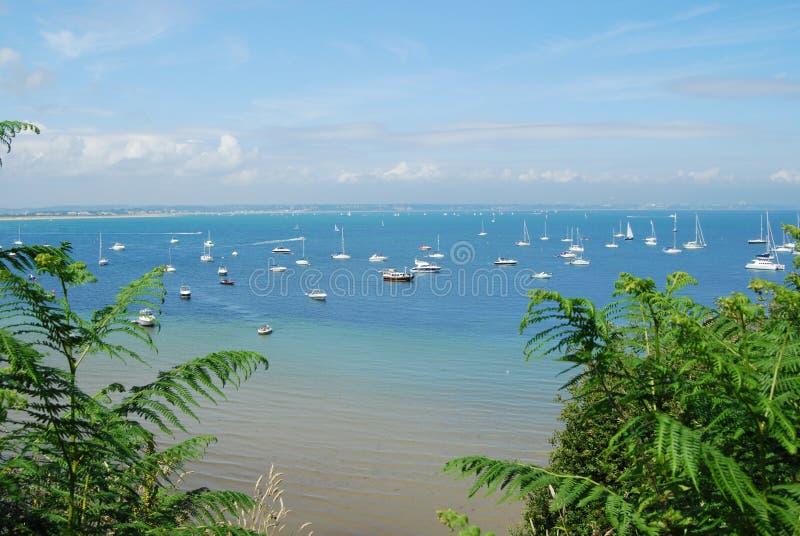 Baie de Bournemouth image libre de droits