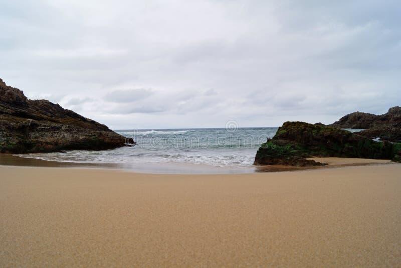 Baie de Boyeghether de plage de trou de meurtre photo stock
