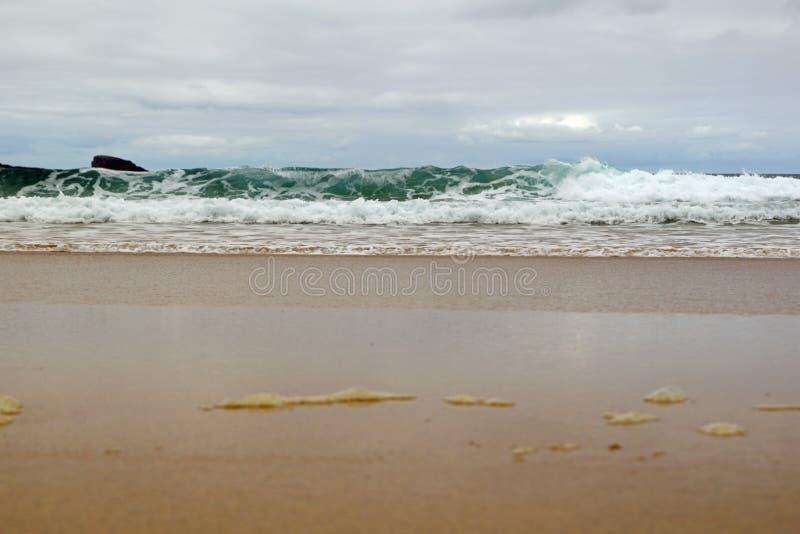 Baie de Boyeghether de plage de trou de meurtre photographie stock libre de droits
