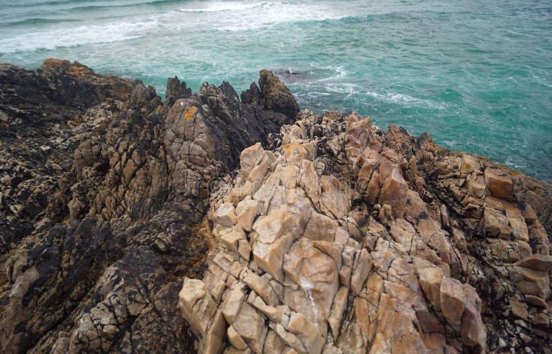 Baie de Boyeghether de plage de trou de meurtre photos stock