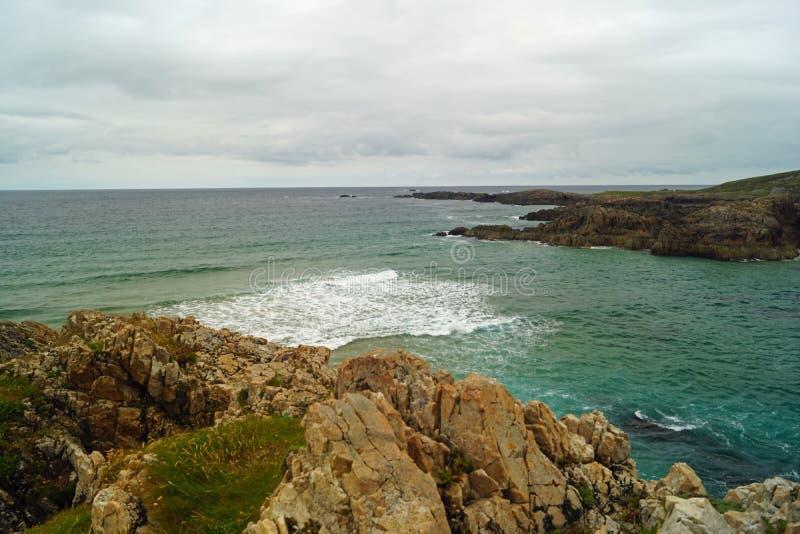 Baie de Boyeghether de plage de trou de meurtre photos libres de droits