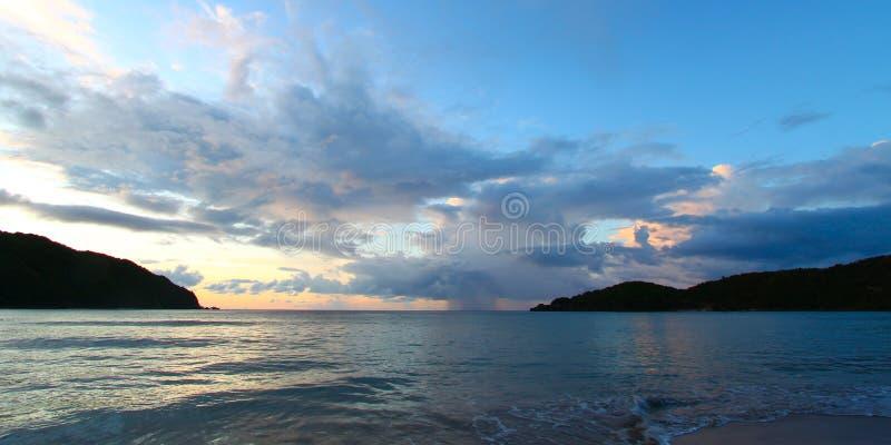 Baie de brasseurs de Tortola Îles Vierges photos libres de droits