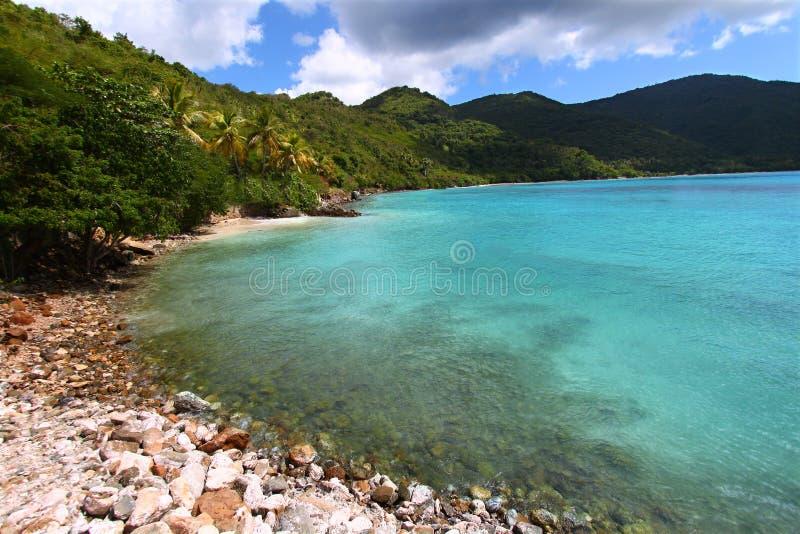 Baie de brasseurs de Tortola photographie stock