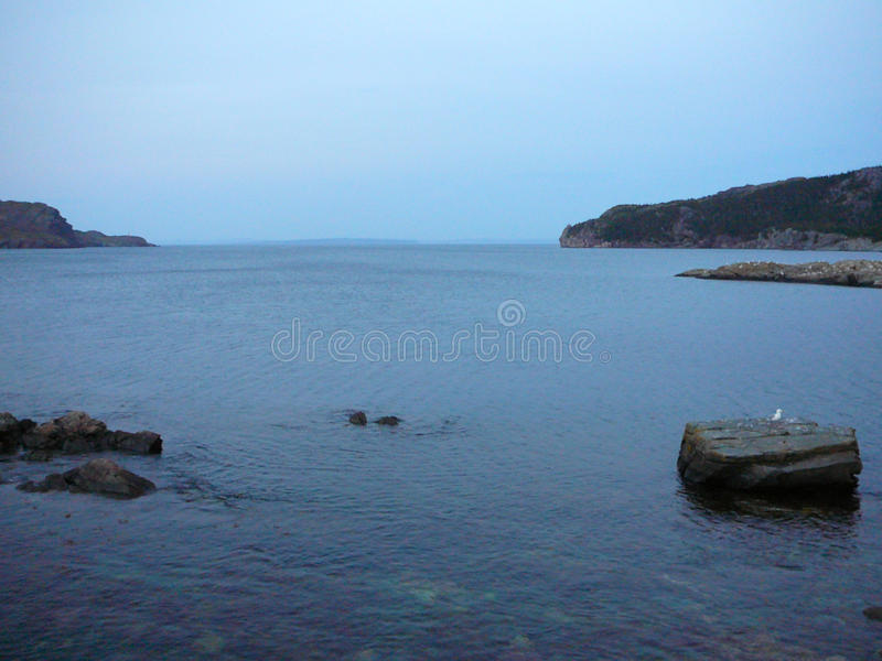 Baie de Brigus images stock