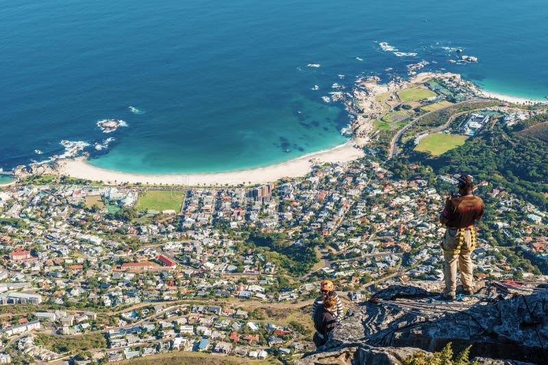 Baie de camps, Cape Town, Afrique du Sud photographie stock