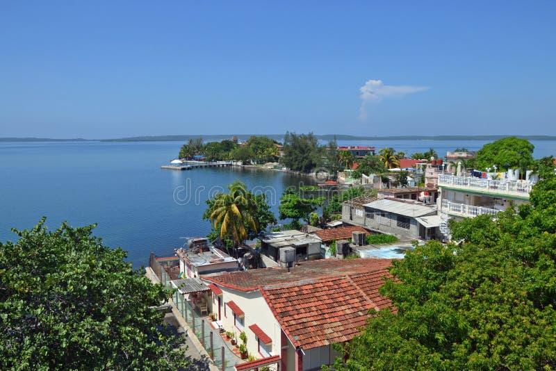 Baie de Cienfuegos image stock