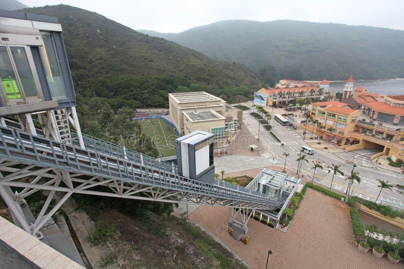 Baie de découverte, île de Lantau, Hong Kong image stock