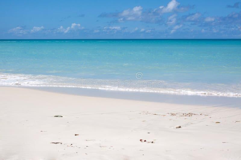 Baie de Dickenson, Antigua photographie stock libre de droits