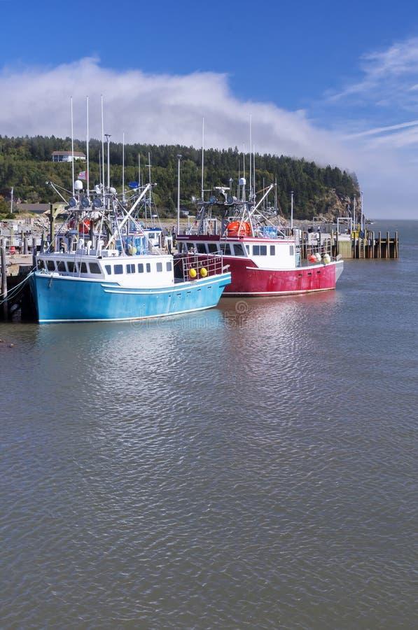 Baie de Fundy, Nouveau Brunswick, Canada photographie stock