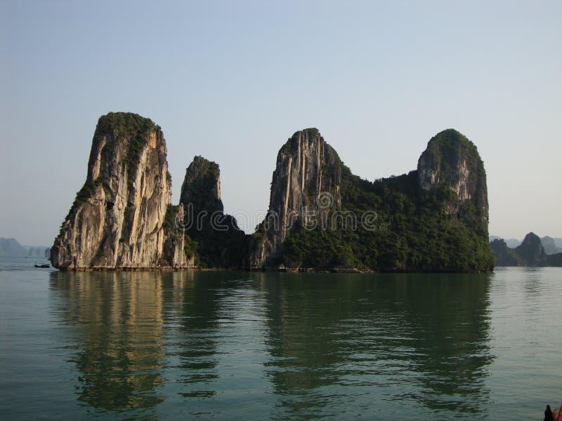 Baie de Halong photographie stock