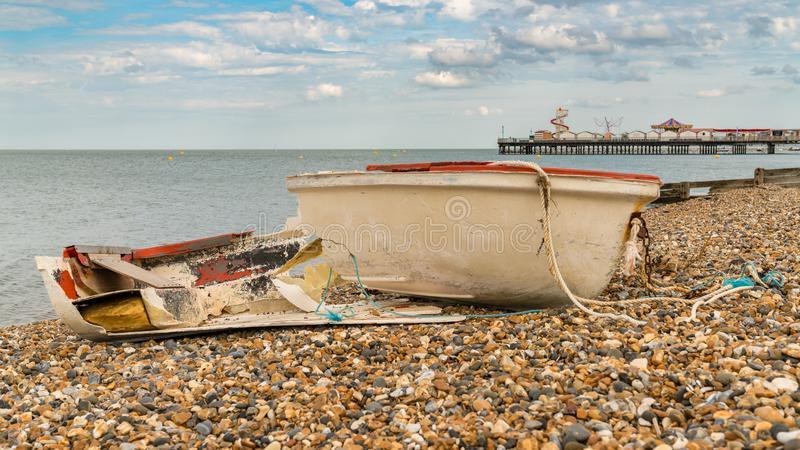 Baie de Herne, Kent, Angleterre, R-U photographie stock libre de droits