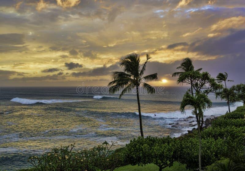 Baie de Honokeana sur Maui Hawaï photos stock