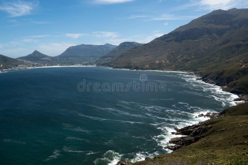 Baie de Hout au sud de Cape Town Afrique du Sud image libre de droits