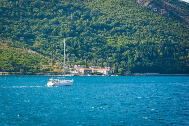 Baie de Kotor - Montenegro photographie stock libre de droits