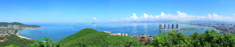 Baie de la Chine Sanya photos libres de droits