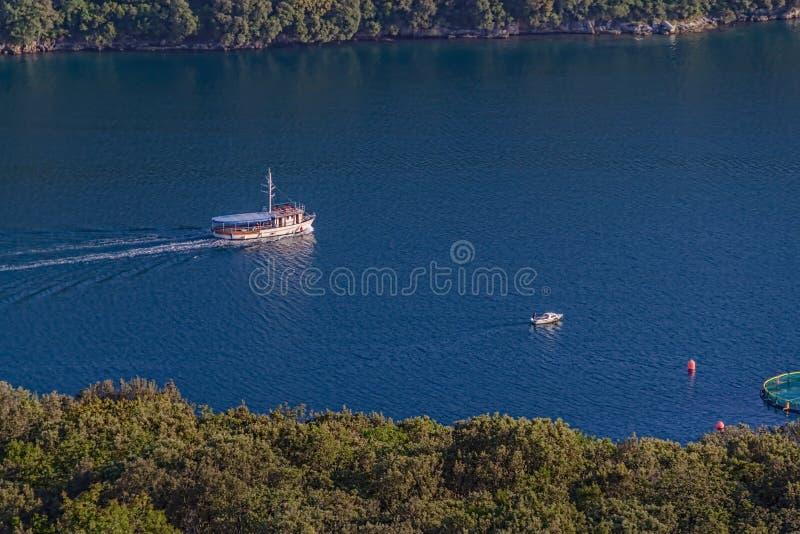 Baie de Lim image stock