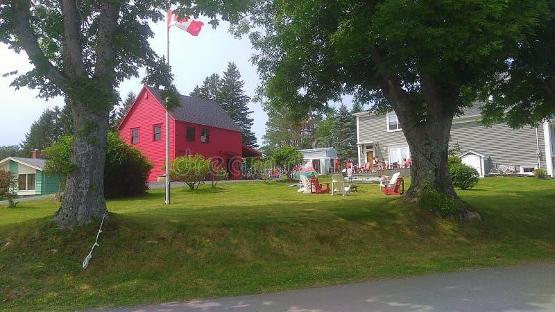 Baie de Mahone, Nova Scotia image libre de droits