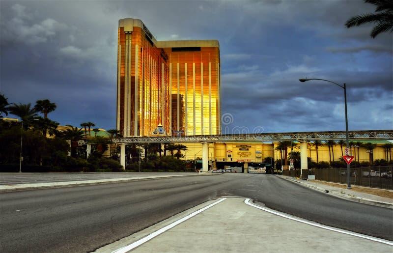 Baie de Mandalay de casino d'hôtel, Las Vegas image stock