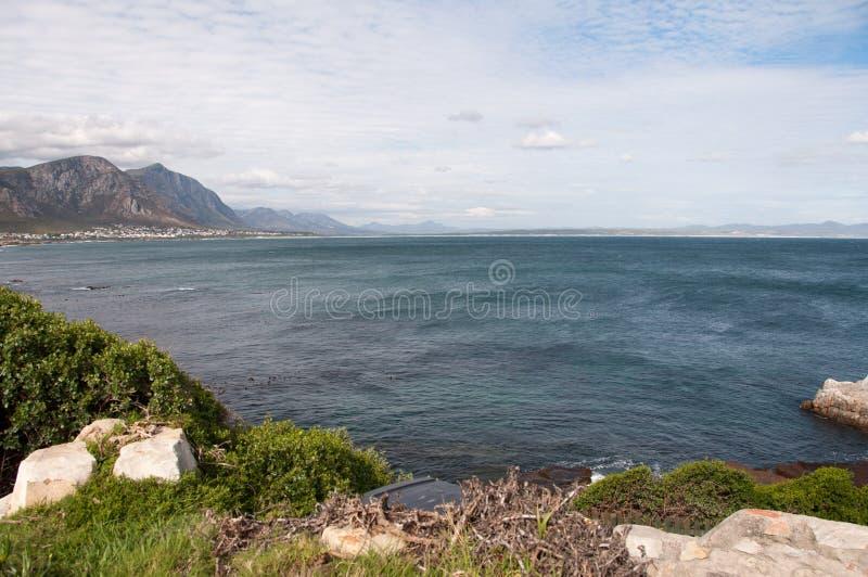 Baie de marcheur, Hermanus, Afrique du Sud image libre de droits