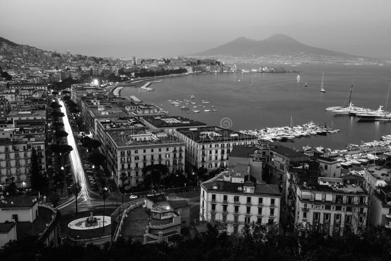Baie de Naples photo stock
