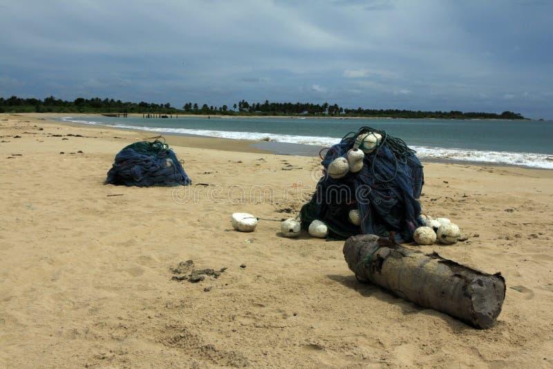 Baie de Sri Lanka - de Kalkudah photo libre de droits