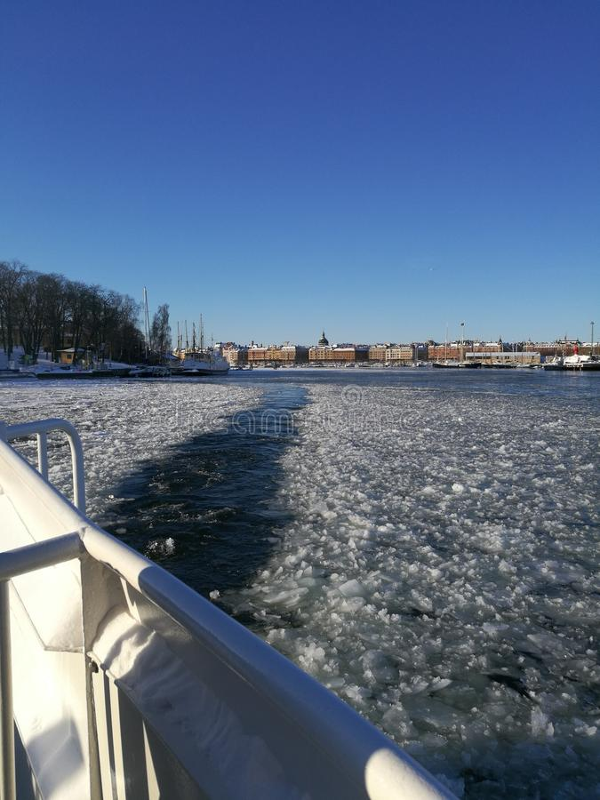 Baie de Stockholm photo stock