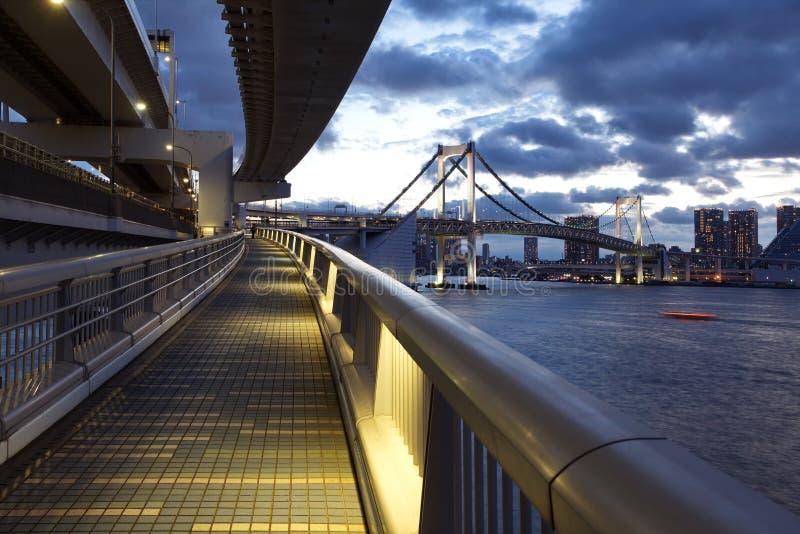 Baie de Tokyo photo stock